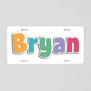 Bryan Spring11 Aluminum License Plate