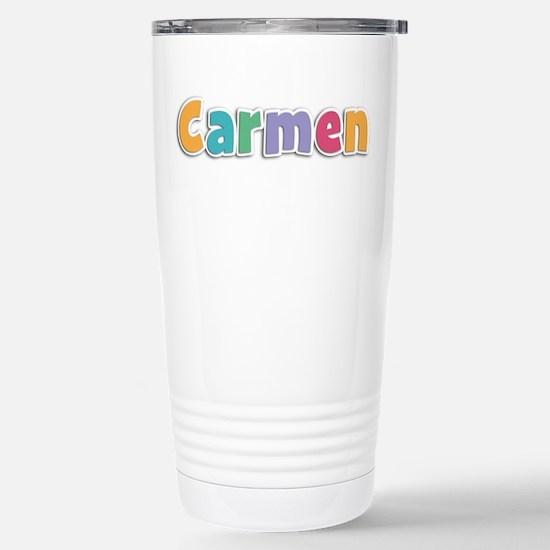 Carmen Spring11 Stainless Steel Travel Mug