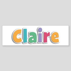Claire Spring11 Bumper Sticker