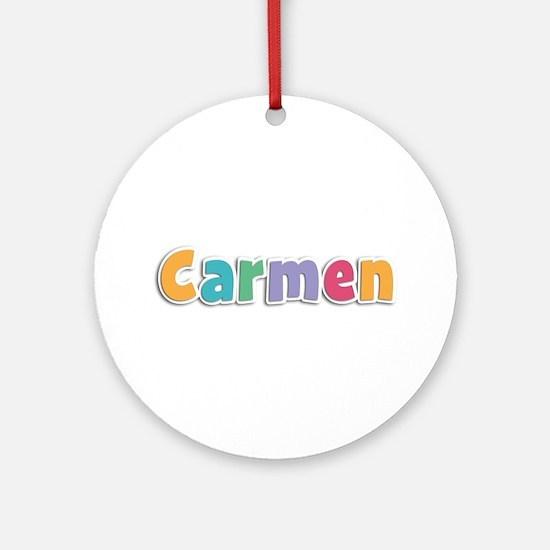 Carmen Spring11 Round Ornament