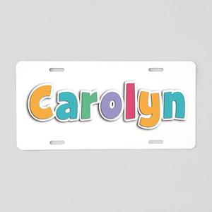 Carolyn Spring11 Aluminum License Plate