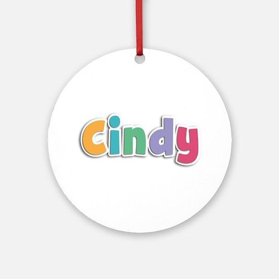 Cindy Spring11 Round Ornament