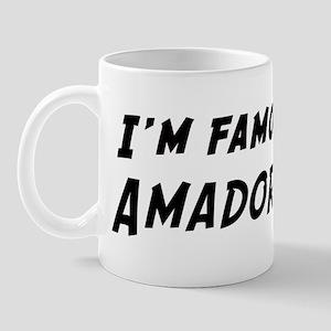 Famous in Amador Mug