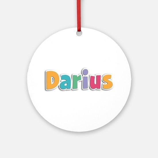 Darius Spring11 Round Ornament