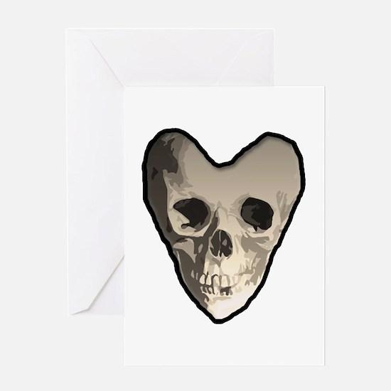 Skullheart Greeting Card
