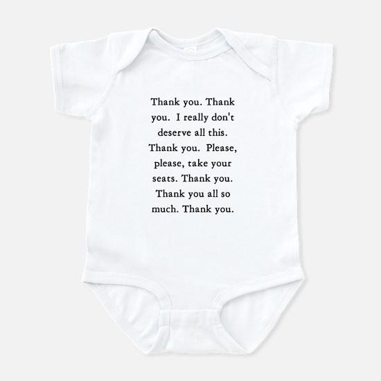 Thank You Infant Creeper