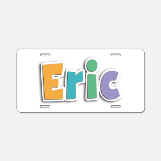Eric Spring11 Aluminum License Plate