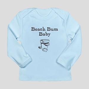 Beach Bum Baby Long Sleeve Infant T-Shirt