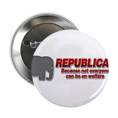 "REPUBLICAN quote 2.25"" Button (100 pack)"