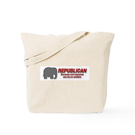 REPUBLICAN quote Tote Bag
