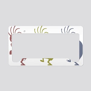 kokopelliVID License Plate Holder