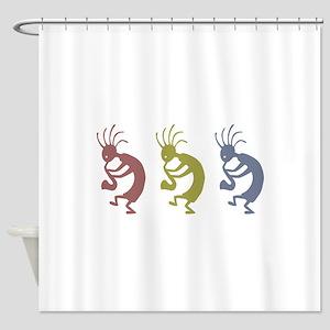 kokopelliVID Shower Curtain