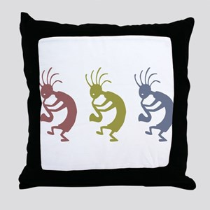kokopelliVID Throw Pillow
