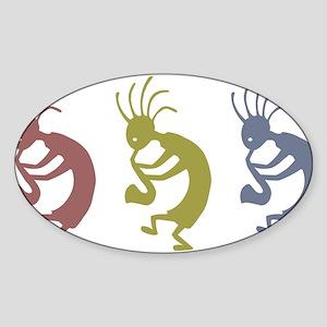 kokopelliVID Sticker (Oval)