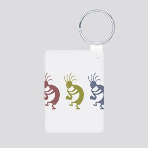 kokopelliVID Aluminum Photo Keychain