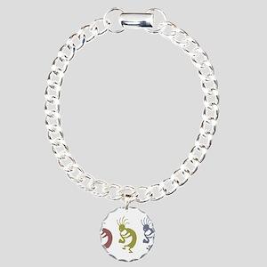 kokopelliVID Charm Bracelet, One Charm