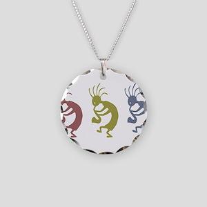 kokopelliVID Necklace Circle Charm
