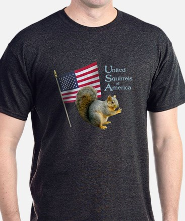 United Squirrels of America T-Shirt