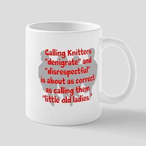 denigrate knitters Mug