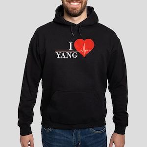 I love Yang Hoodie (dark)