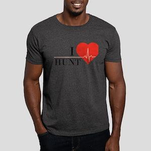 I love Hunt Dark T-Shirt