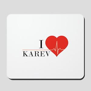 I love Karev Mousepad