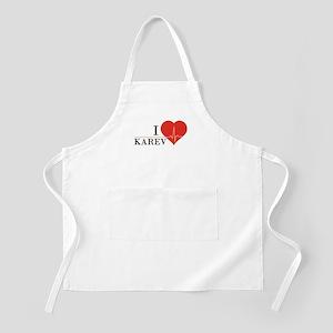 I love Karev Apron