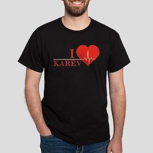 I love Karev Dark T-Shirt