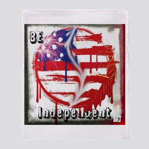 BE Independent Throw Blanket