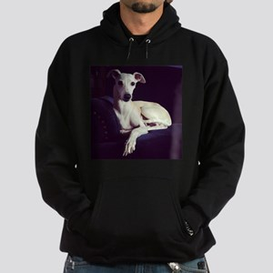 The Whippet Is In Hoodie (dark)