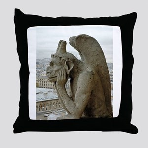 Paris No. 7 Throw Pillow