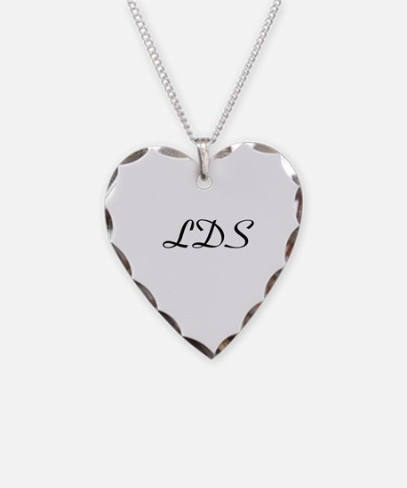 LDS Necklace Heart Charm