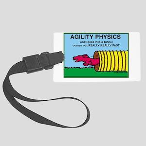 AgilityPhysics Large Luggage Tag