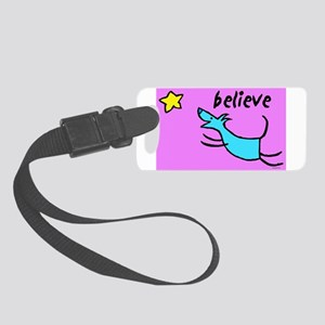 300believe Small Luggage Tag