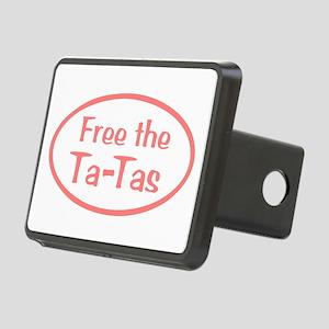 Free the Ta-Tas Rectangular Hitch Cover