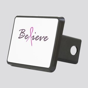Believe Breast Cancer Rectangular Hitch Cover
