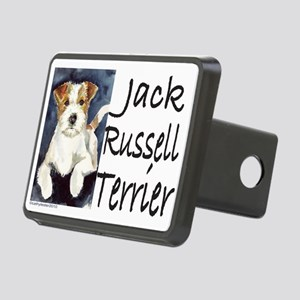 JRTwatercolorWORDS Rectangular Hitch Cover