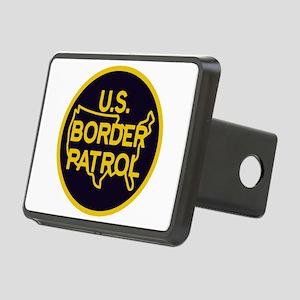 Border Patrol Rectangular Hitch Cover