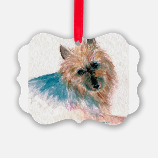 Australian Terrier face Ornament