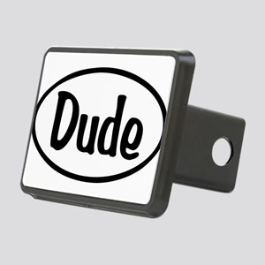 Dude Oval Rectangular Hitch Cover