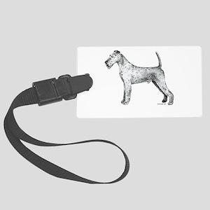 Irish_Terrier Large Luggage Tag