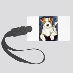 JRTwatercolor Large Luggage Tag