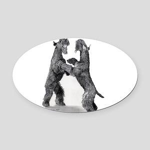 KerriesWball Oval Car Magnet