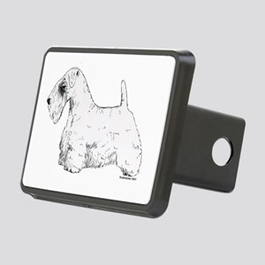 Sealyham_Terrier Rectangular Hitch Cover