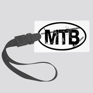 MTB Oval Large Luggage Tag
