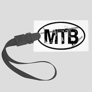 MTB Oval Large Luggage Tag
