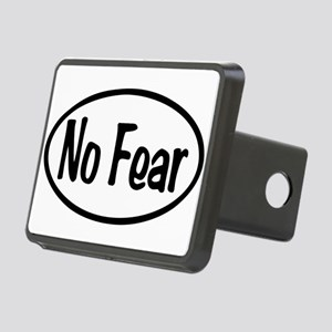 No Fear Oval Rectangular Hitch Cover