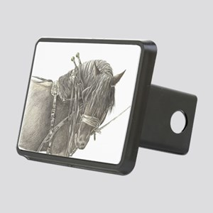 draft horse Rectangular Hitch Cover