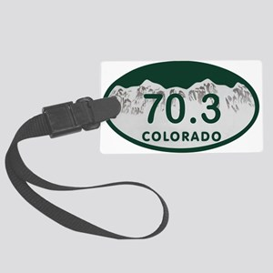 70.3 Colo License Plate Large Luggage Tag