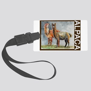 ALPACAtwo Large Luggage Tag